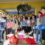 Auch die Kinder und Jugendlichen der Neuen Mittelschule Groß St. Florian engagierten sich für bedürftige Schülerinnen und Schüler in Rumänien.