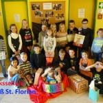 Die Kinder der Volksschule Groß St. Florian beschenkten auch heuer wieder Kinder in Rumänien.
